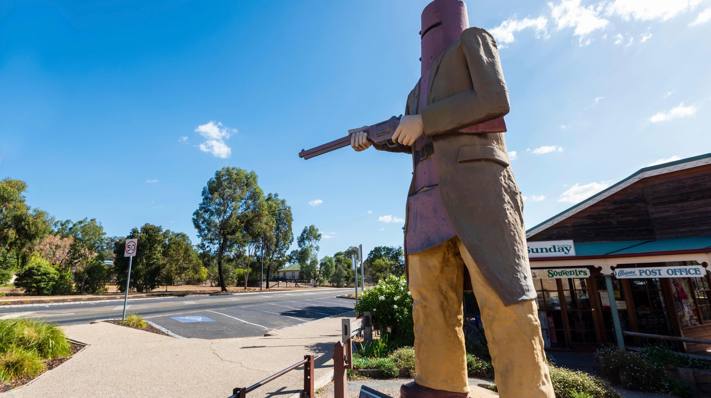 Read on to find out how Ned Kelly, a violent outlaw, became one of Australia's most cherished national icons