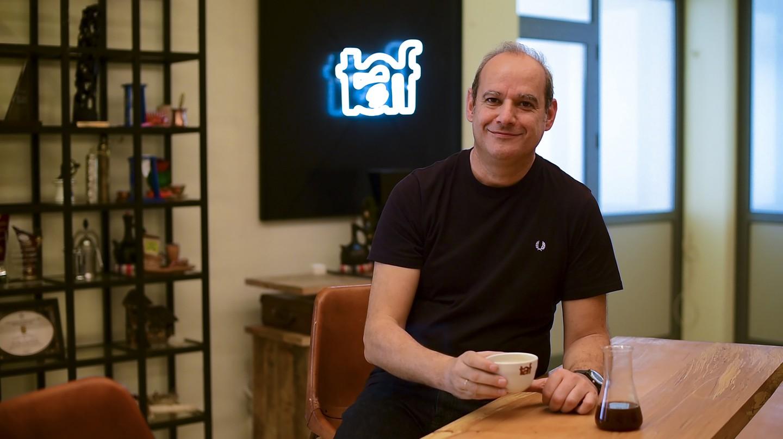 Yiannis Taloumis heads up Taf Coffee