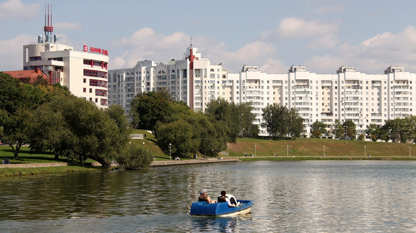 Minsk is known for its plentiful parks and green spaces