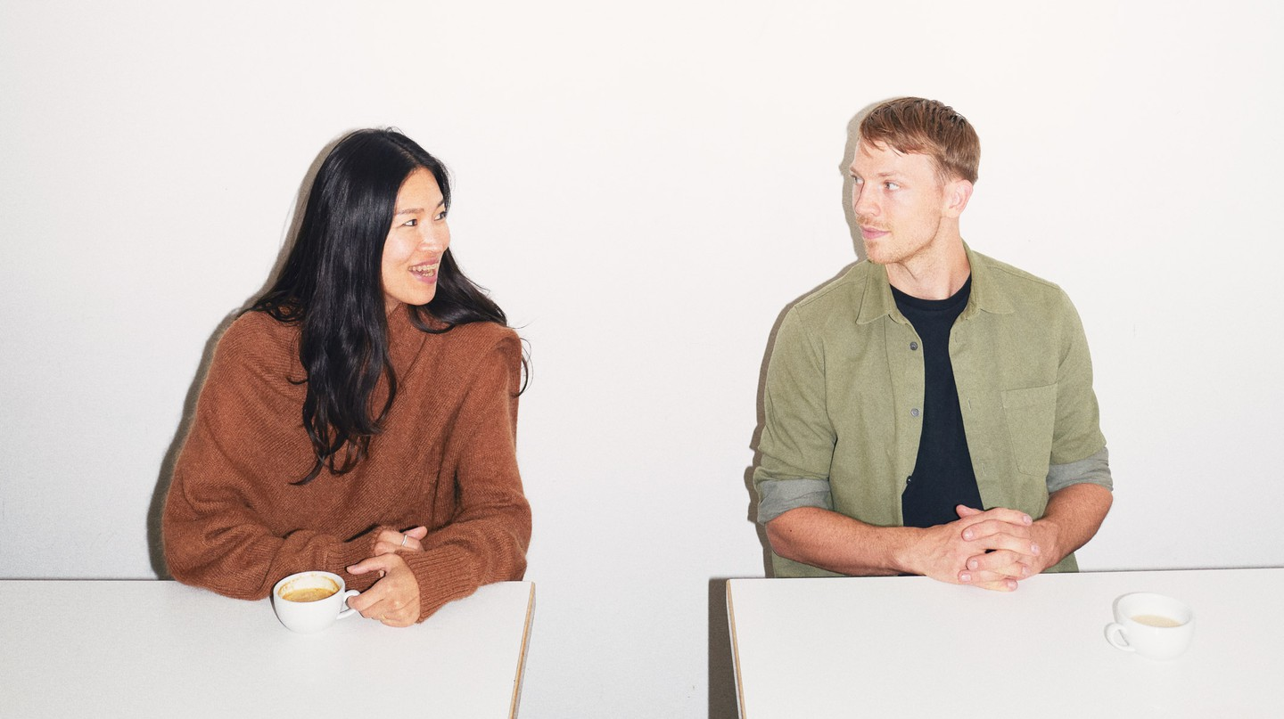 Rejina Pyo and Jordan Bourke often dine at Rochelle Canteen in London's Shoreditch