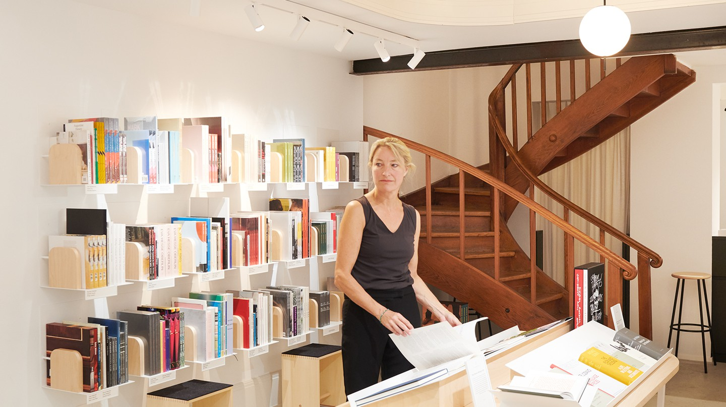 Hauser & Wirth bookshop and publishing house in Zürich has a rich history