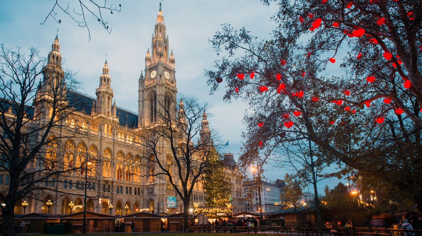 Vienna's famous Christmas markets attract huge numbers of visitors each year
