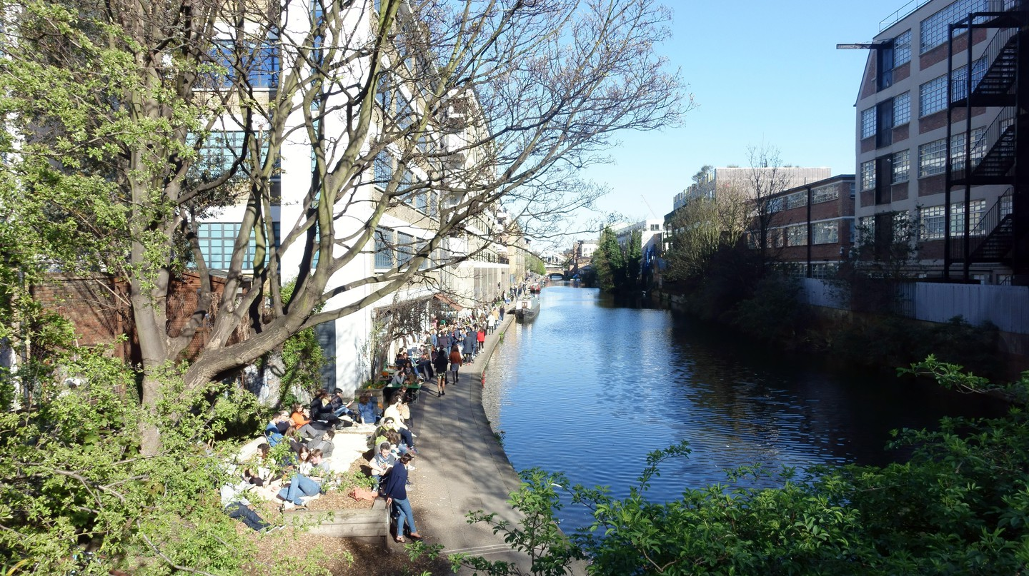 The Regent's Canal is one of Haggerston's best features – together with the great restaurants in the area