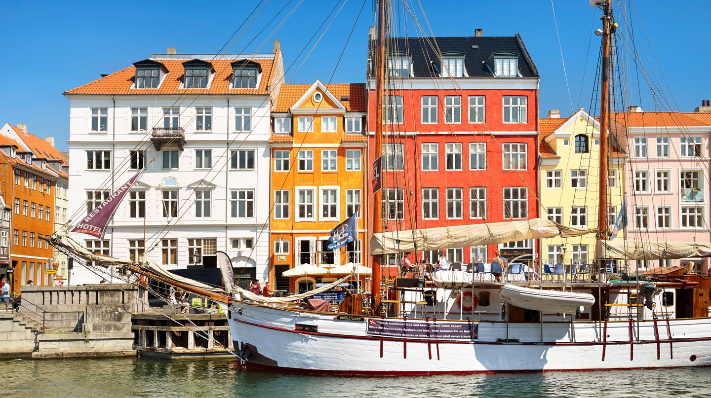 Copenhagen combines modern and progressive city planning with historic architecture and charming cobblestoned streets