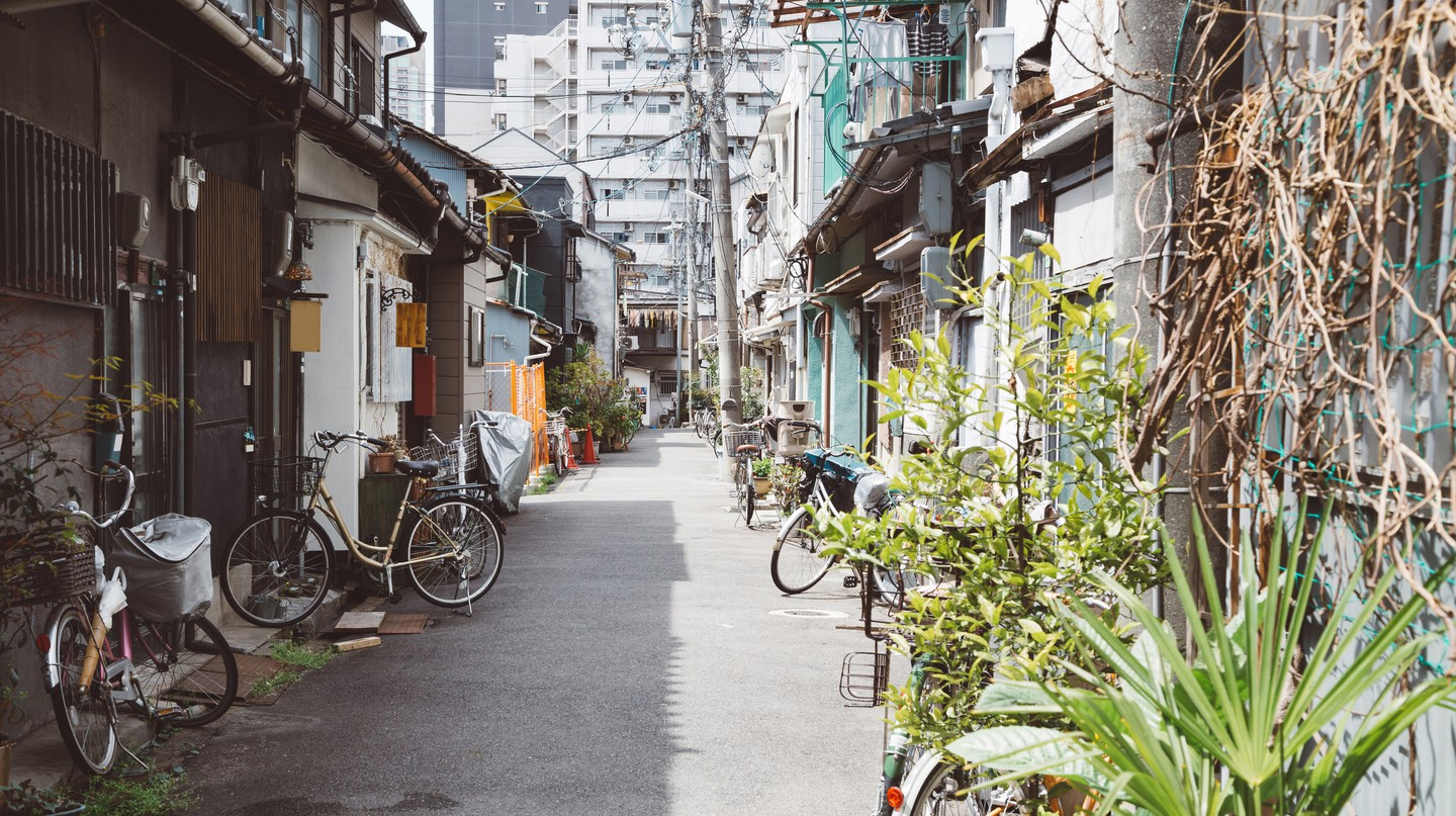 Nakazakicho is a thriving hipster neighbourhood in Osaka