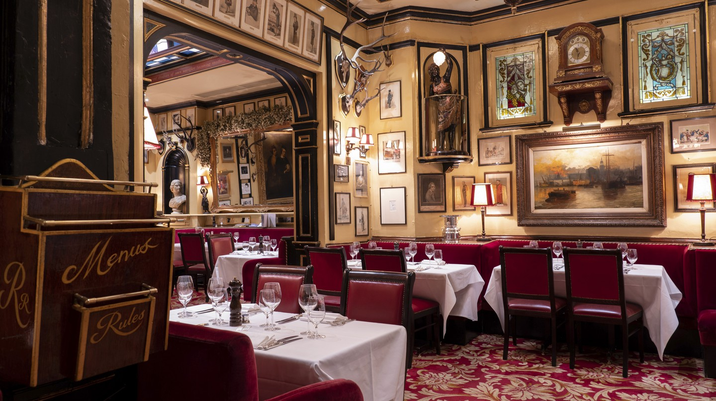 Rules restaurant, London, was established in 1798