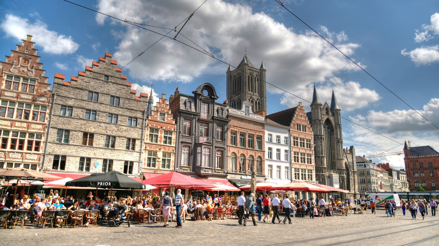 Ghent boasts some of the finest, most vibrant food in Belgium