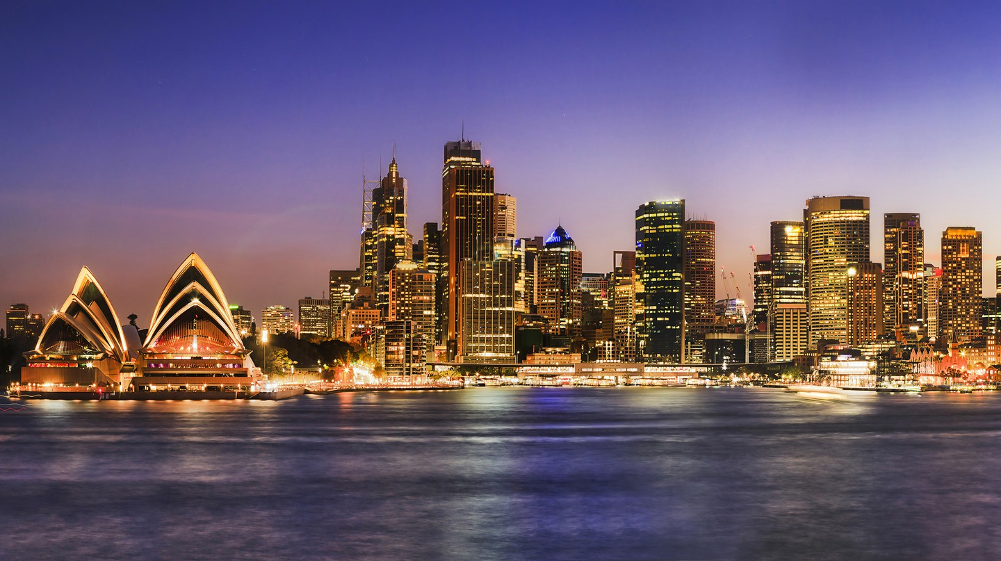 Look out over Sydney Harbour from your hotel room