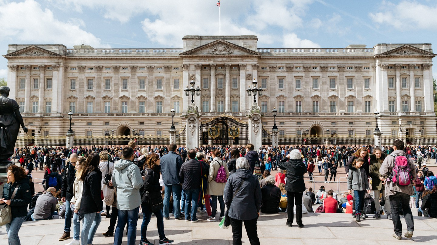 Buckingham Palace is one of London's most popular attractions