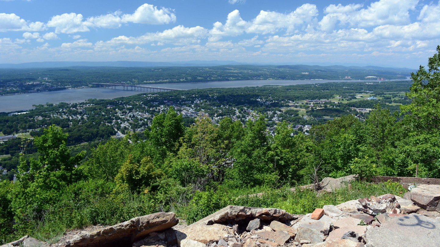 The Beacon mountain trail overlooking the city, home to a thriving arts community