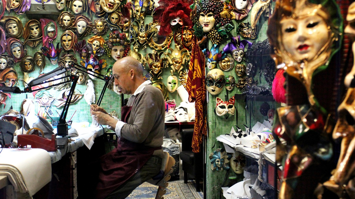 Beyond the tourist shops, Venice is a city of artisans practising their age-old crafts with care and dedication