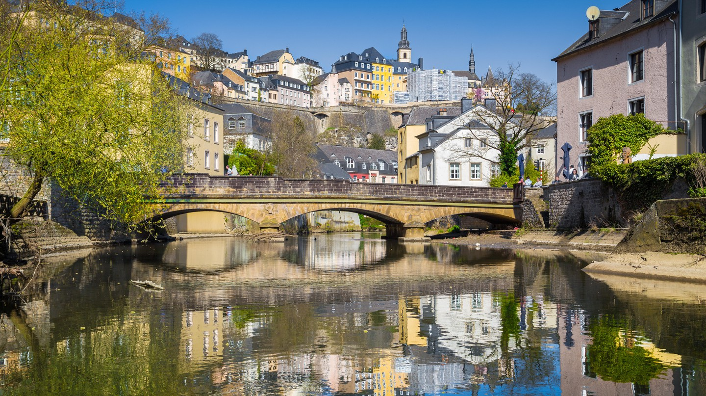 Luxembourg City is famed for its fortified medieval old town