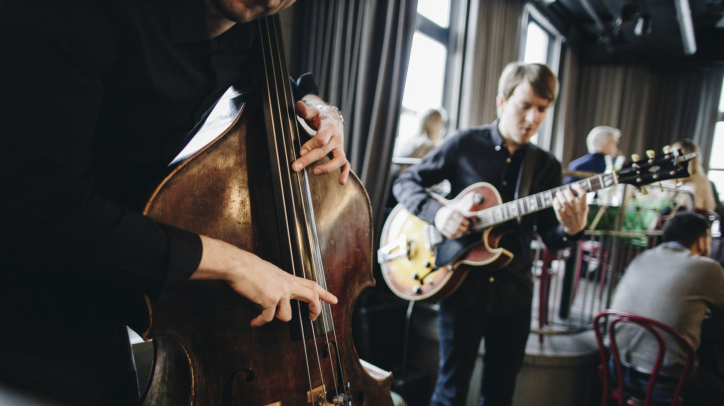 Stockholm has lots of bars and clubs that play live music for jazz lovers