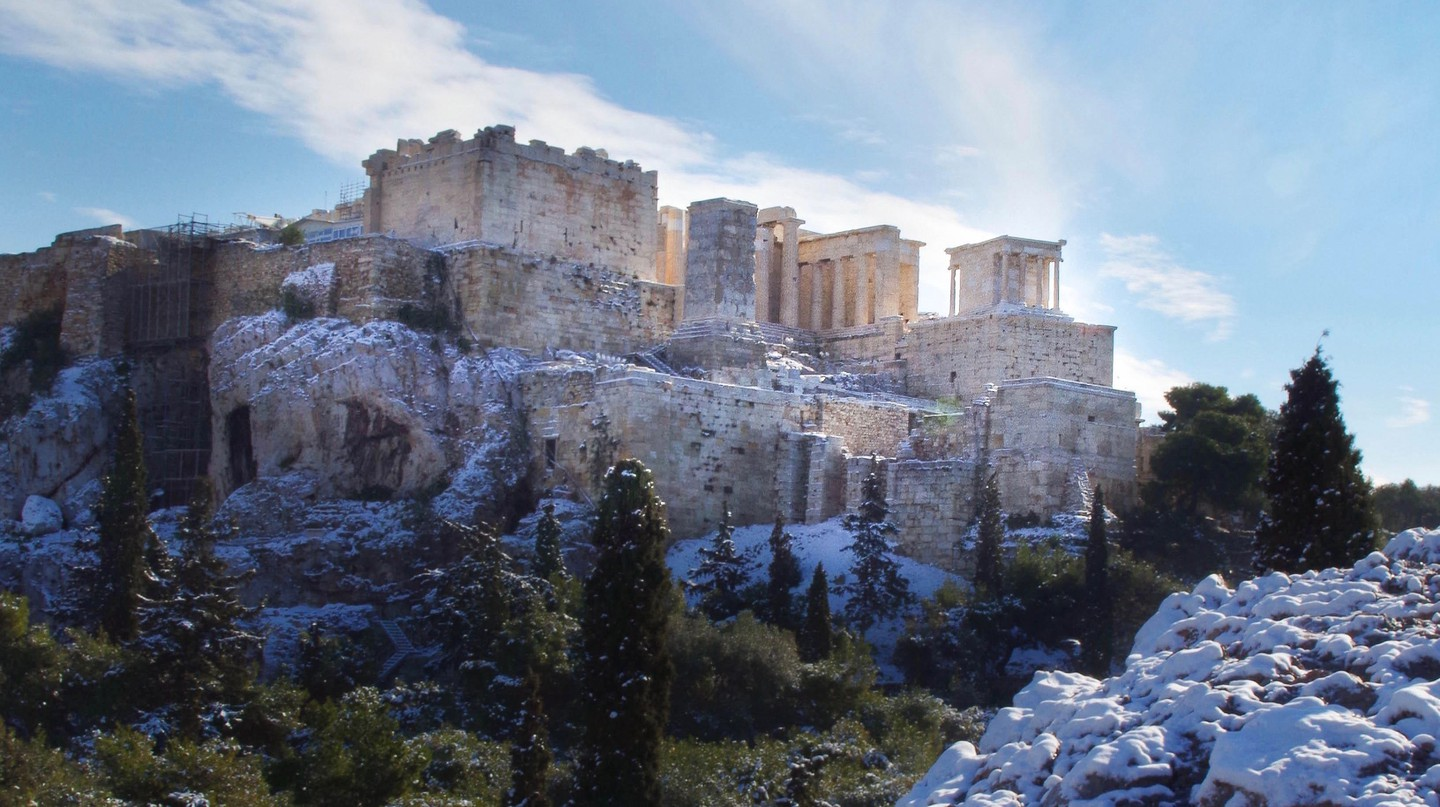 See the Greek capital's most iconic landmarks in a new light on a winter city break to Athens