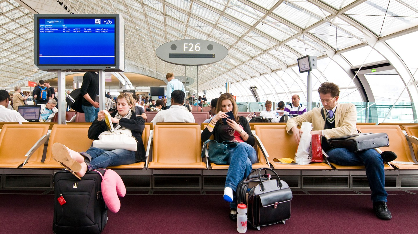Charles de Gaulle Airport, in Paris, comes high on the global list of those with most delays