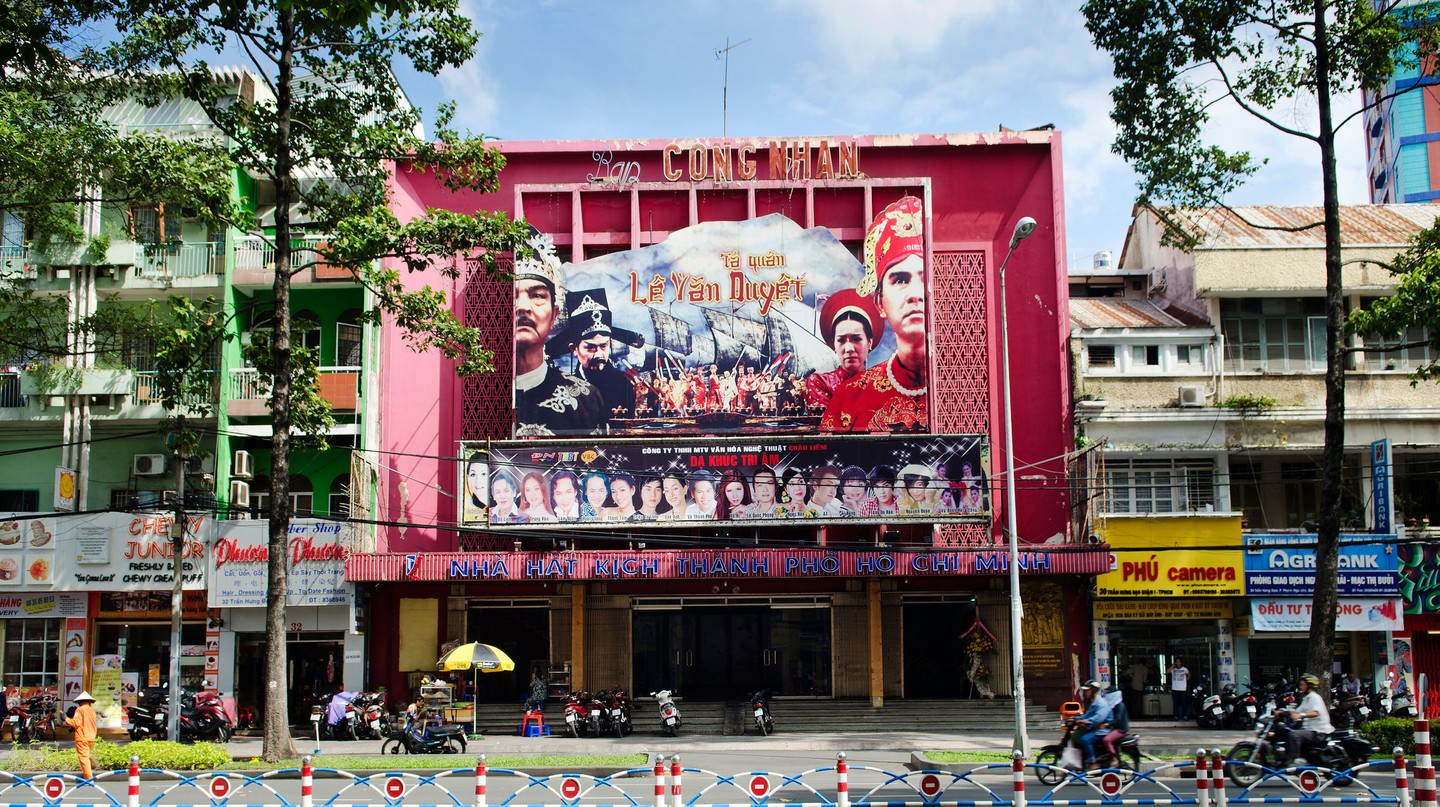 The Vietnamese are a nation of cinema-goers, and Ho Chi Minh City has plenty of multiplexes and independent picturehouses to entertain them