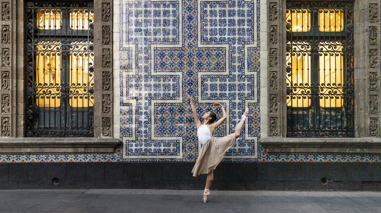 Güemez is trying to spark people's curiosity in the arts by bringing ballet into public spaces