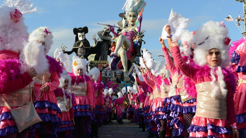 Carnevale di Viareggio is one of Europe's largest festivals
