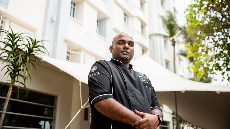Prenolan Naidoo is the head chef at Jeera