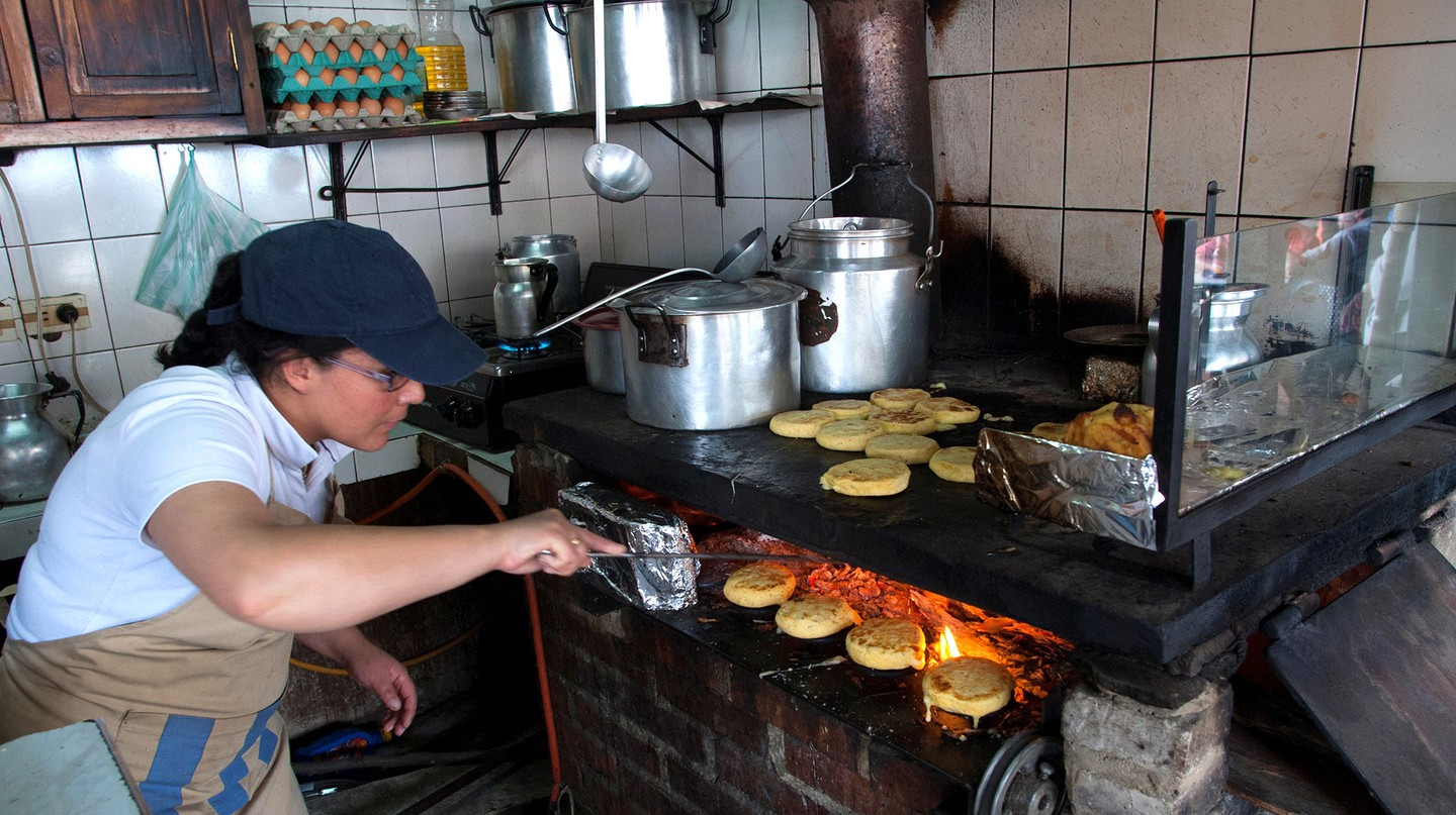 Arepas make for a perfect snack any time of day