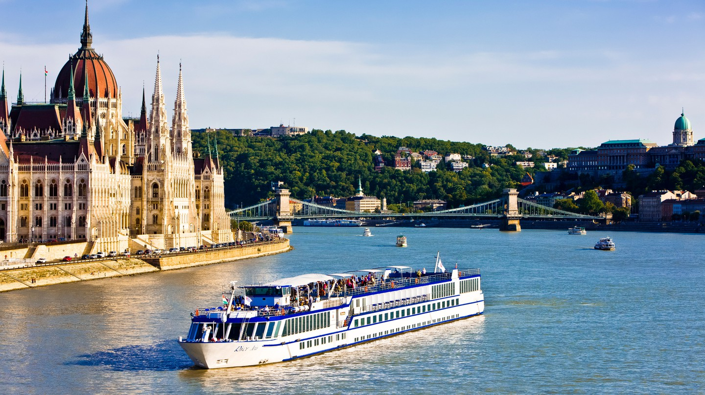 A cruise on the Danube offers a more leisurely outdoor adventure