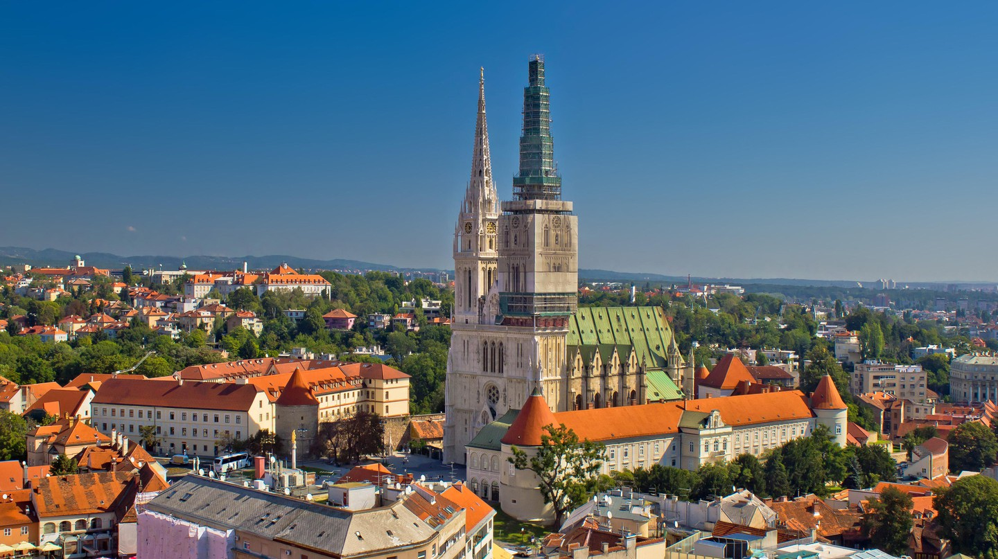 Zagreb Cathedral is the tallest building in Croatia and a key attraction for visitors to Zagreb