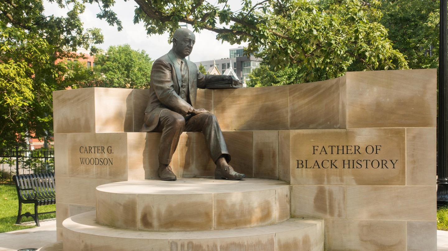 Carter G Woodson is known as the 'Father of Black History'