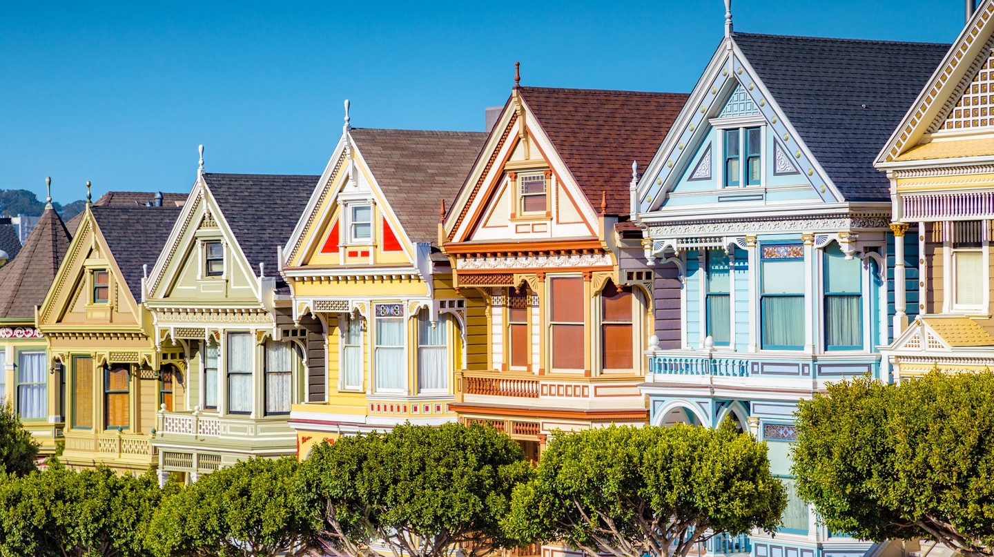 San Francisco has many beautiful neighborhoods to explore