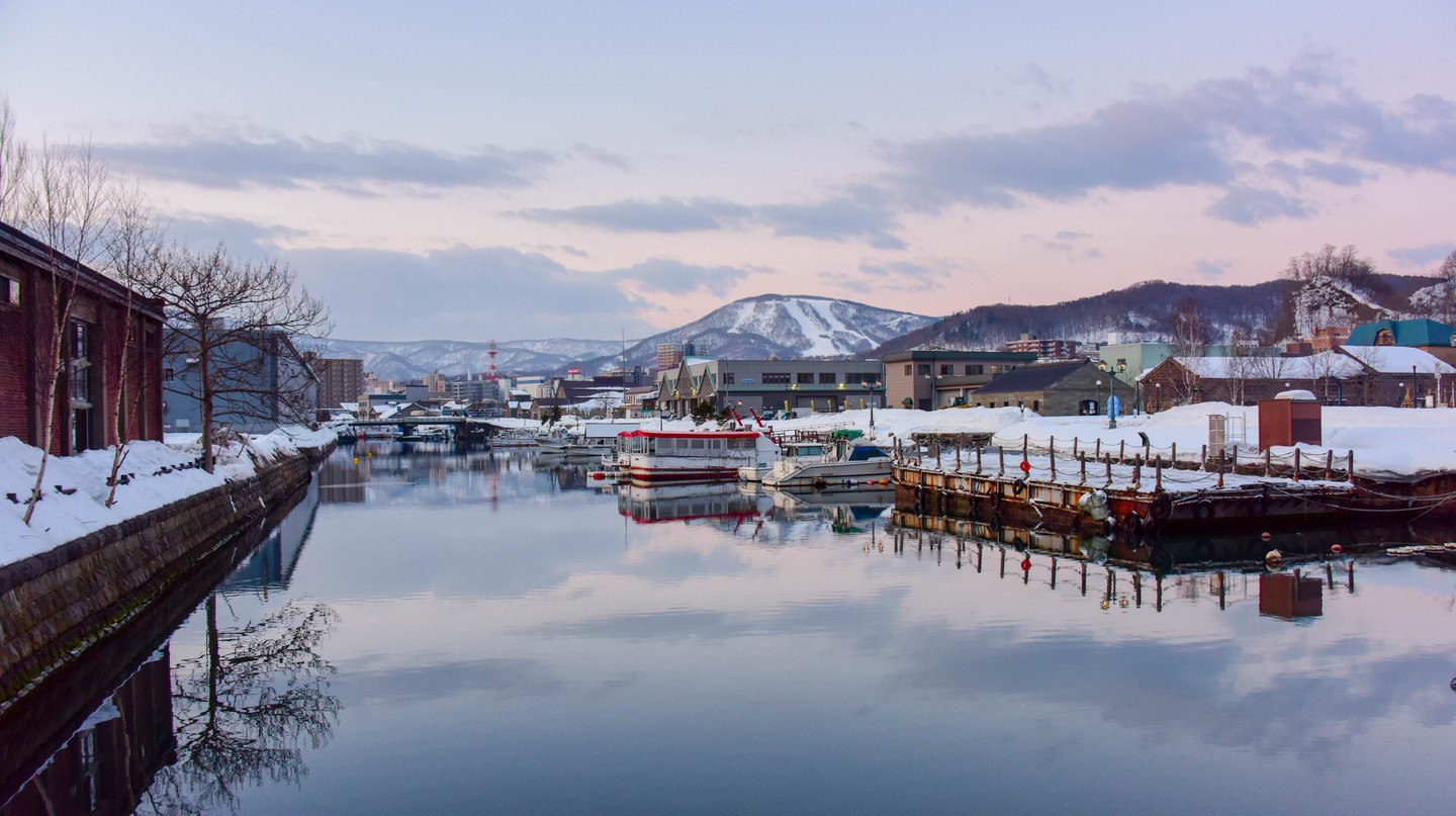 Otaru's reputation for unparalleled scenic beauty has made it a popular up and coming destination.