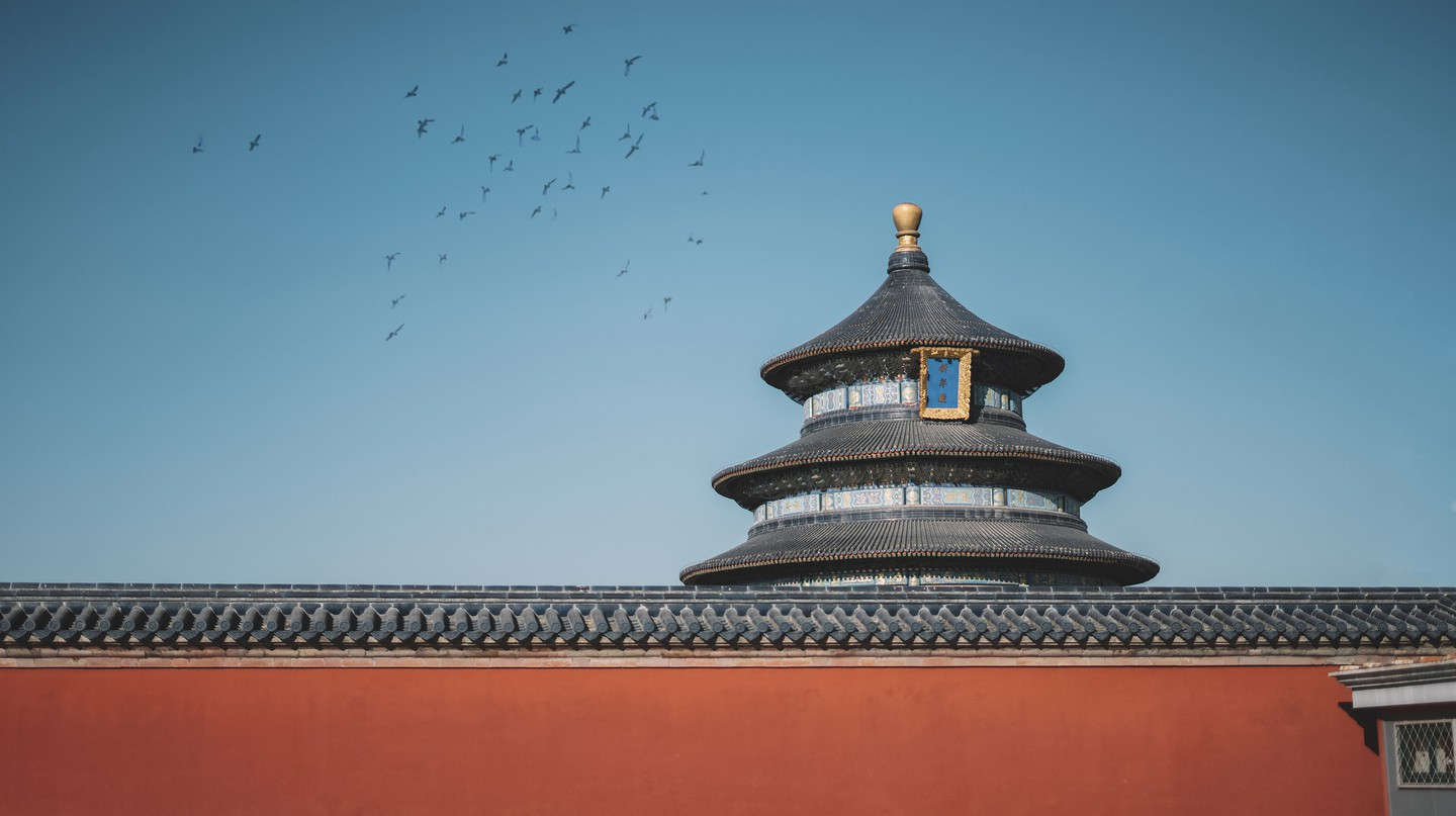 The ornate Temple of Heaven dates back to the Ming and Qing dynasties