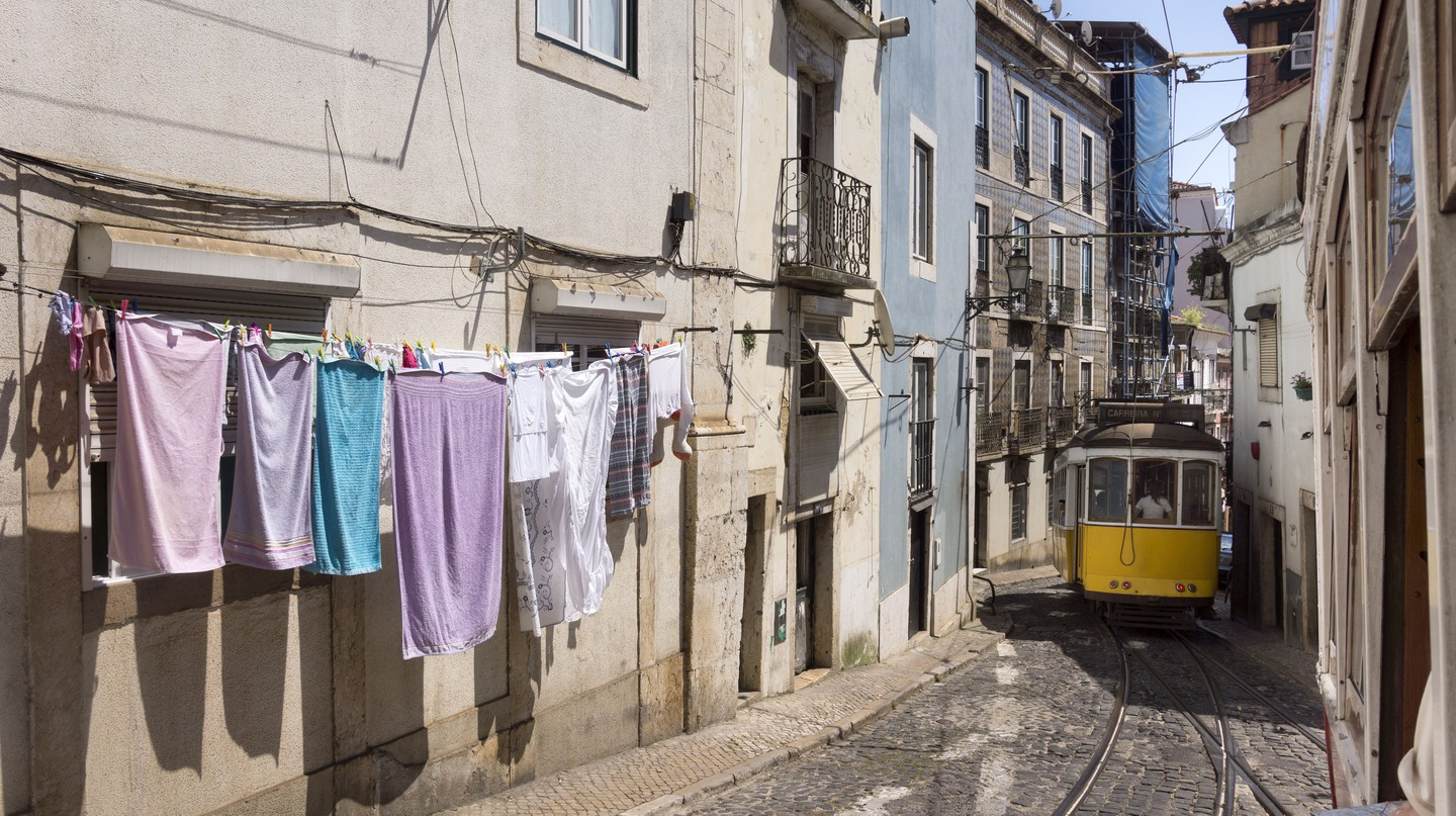 Alfama is one of Lisbon's most enchanting neighbourhoods