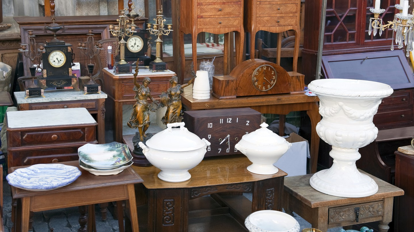 There's something for every treasure-hunter in Walterboro, from vintage home decor to military memorabilia