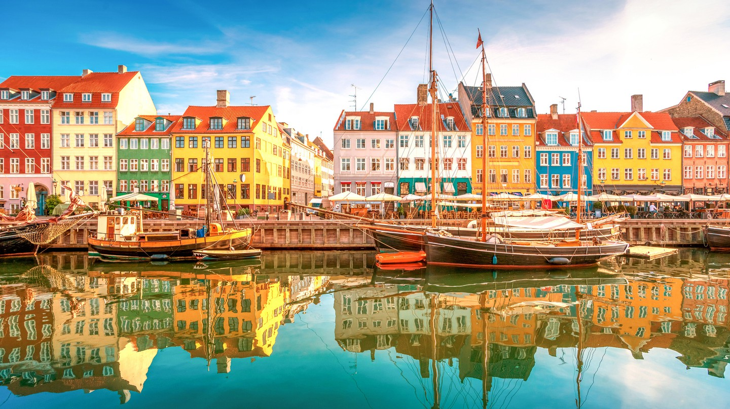 The colourful buildings of Nyhavn are a popular tourist attraction in Copenhagen
