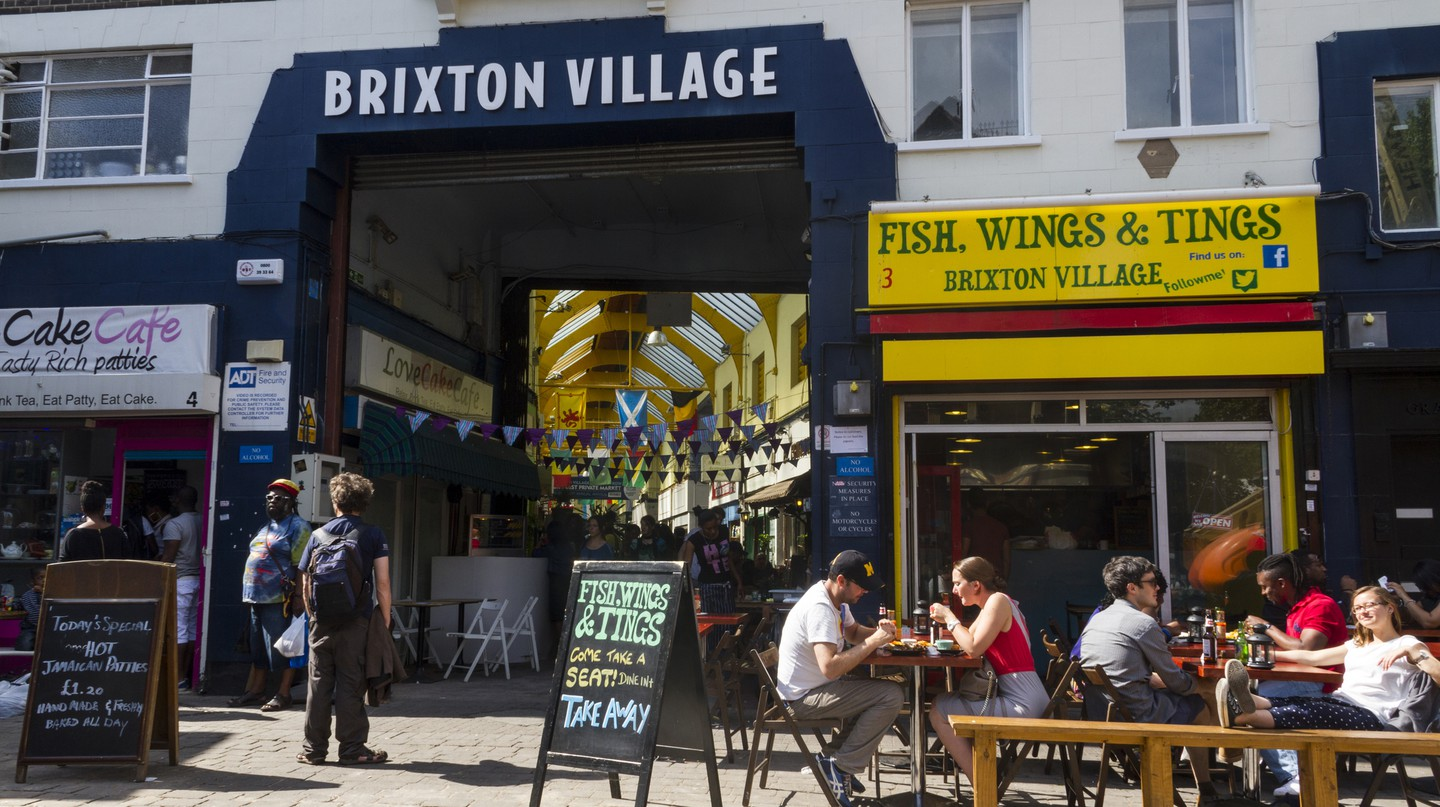 Brixton's Afro-Caribbean heritage has contributed to the buzzy street-food scene