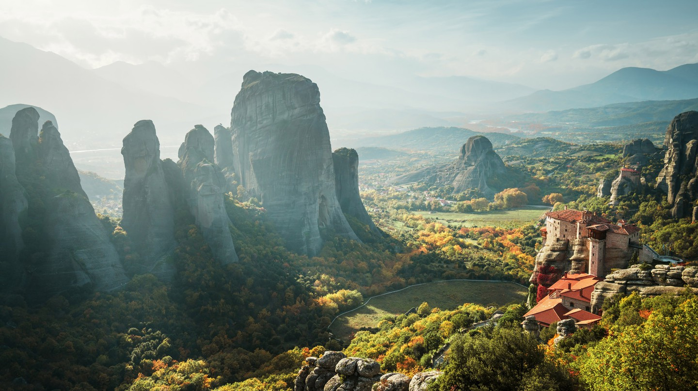The monasteries of Meteora in Greece