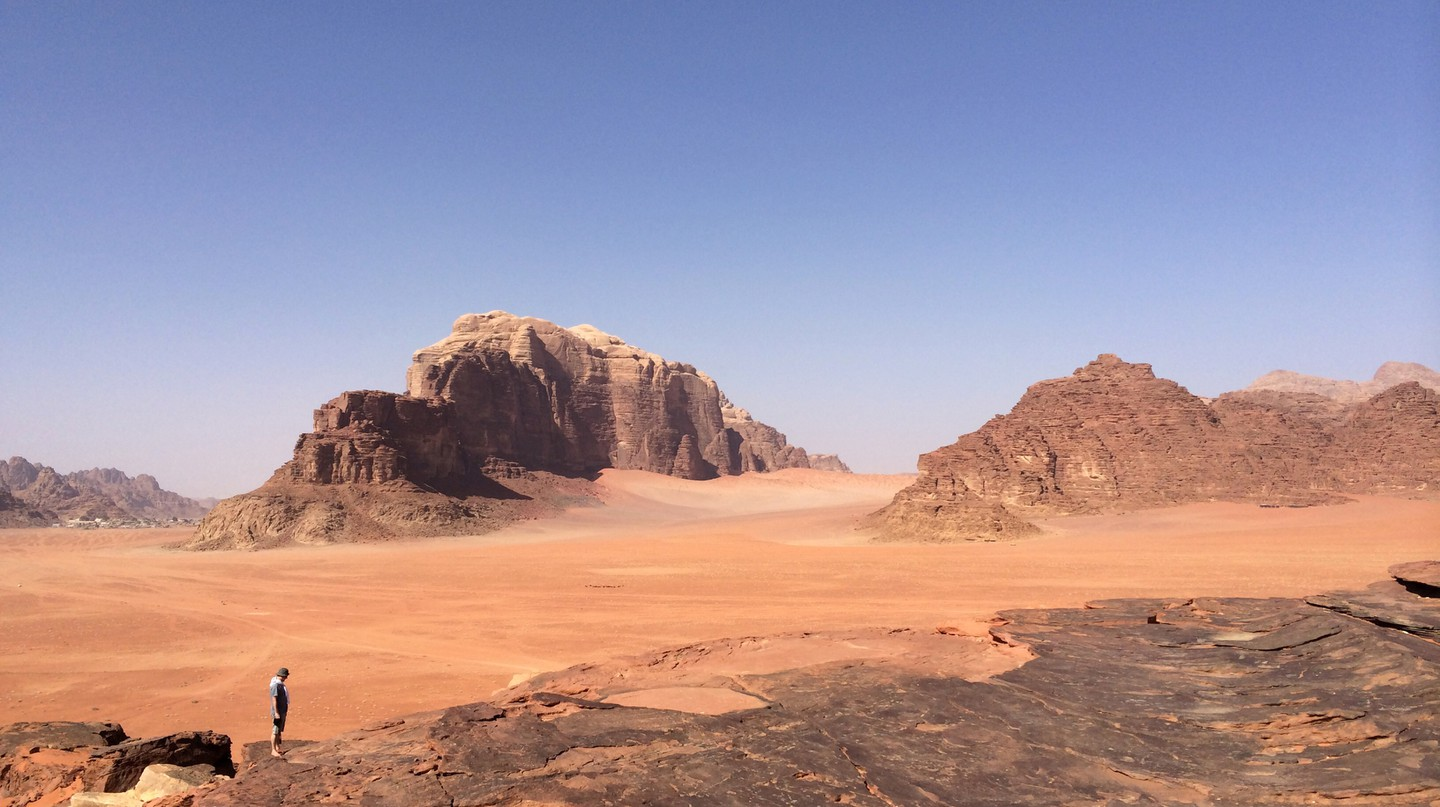 Planning a trip to Wadi Rum in Jordan is guaranteed to boost your mood