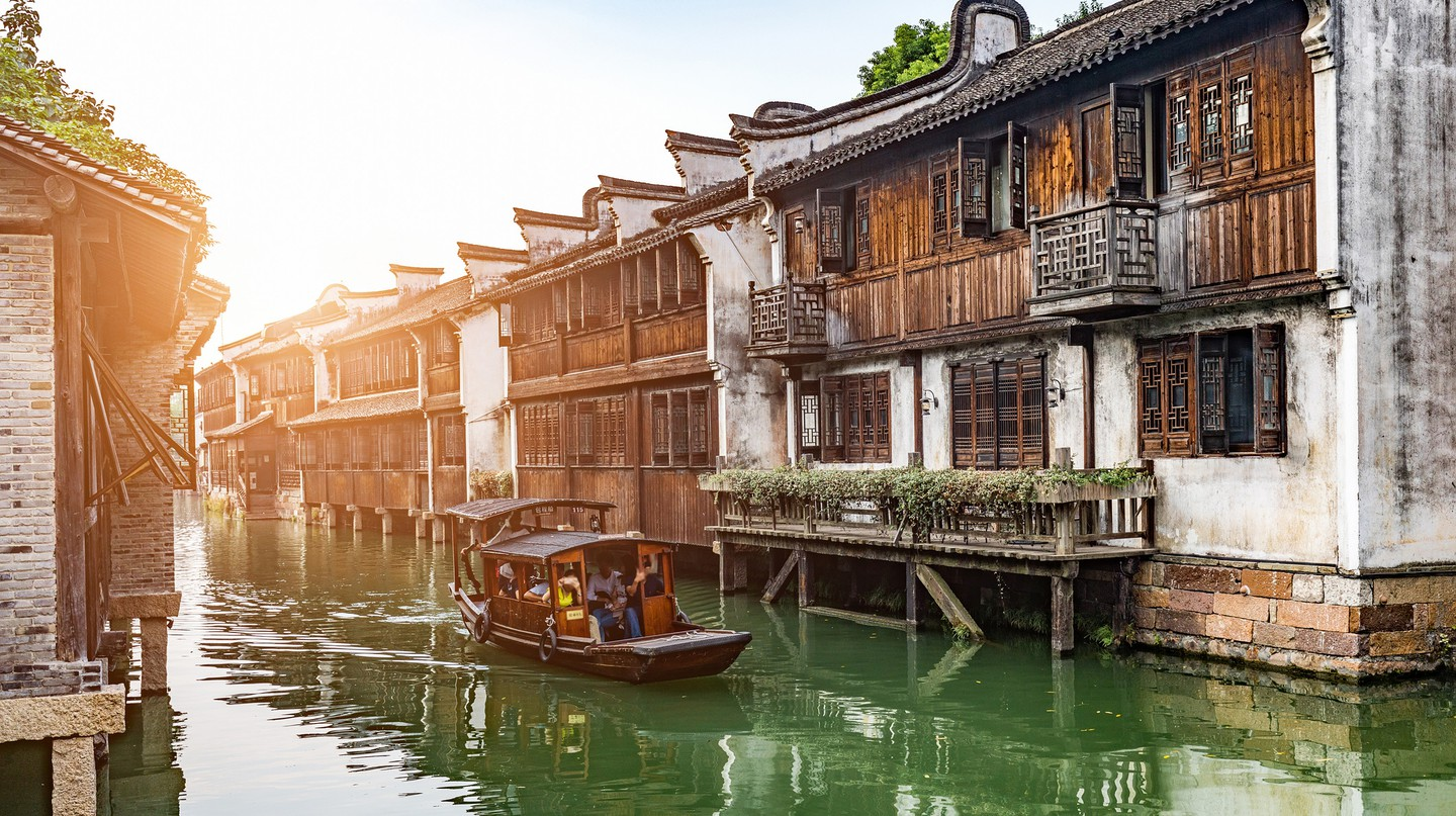 The enchanting ancient water town of Wuzhen dates back 1,300 years