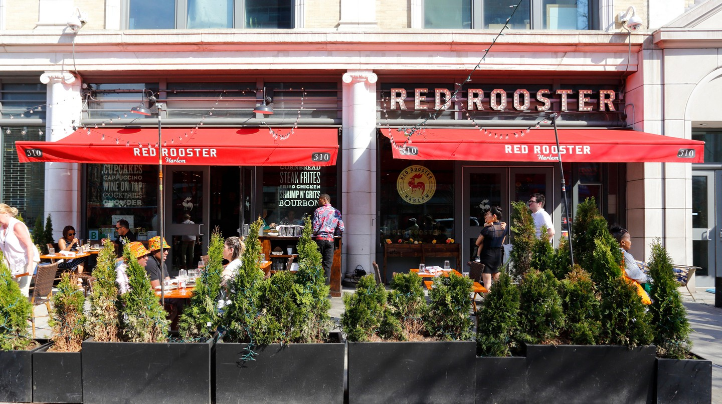 Marcus Samuelsson opened Harlem's Red Rooster in 2010