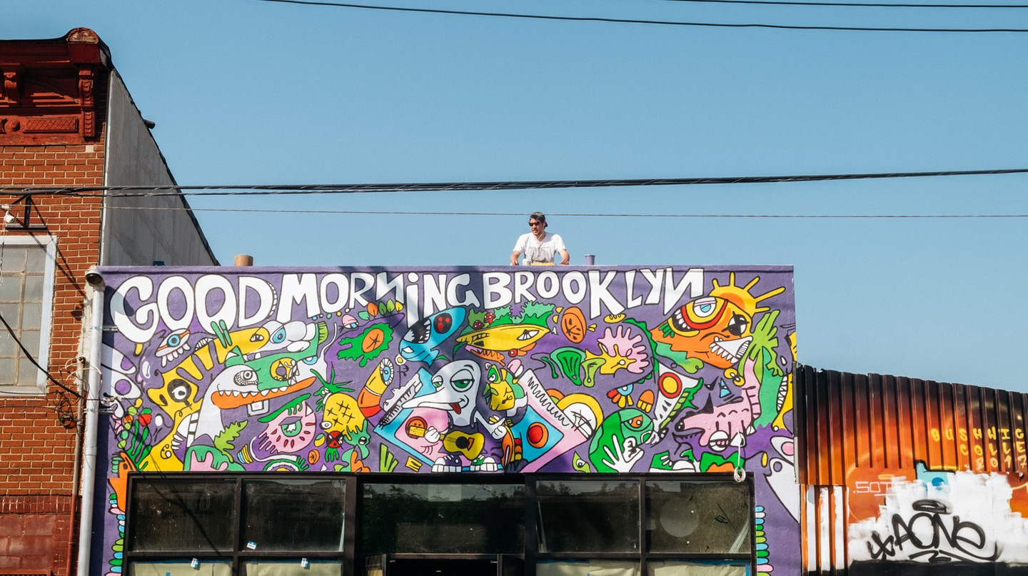Enjoy a drink in Bushwick