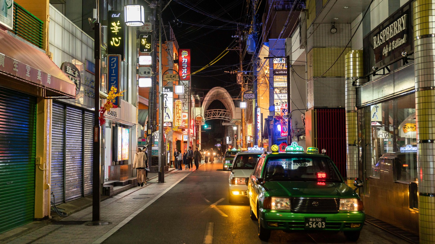 Kumamoto offers a very different drinking scene to many of Japan's other cities