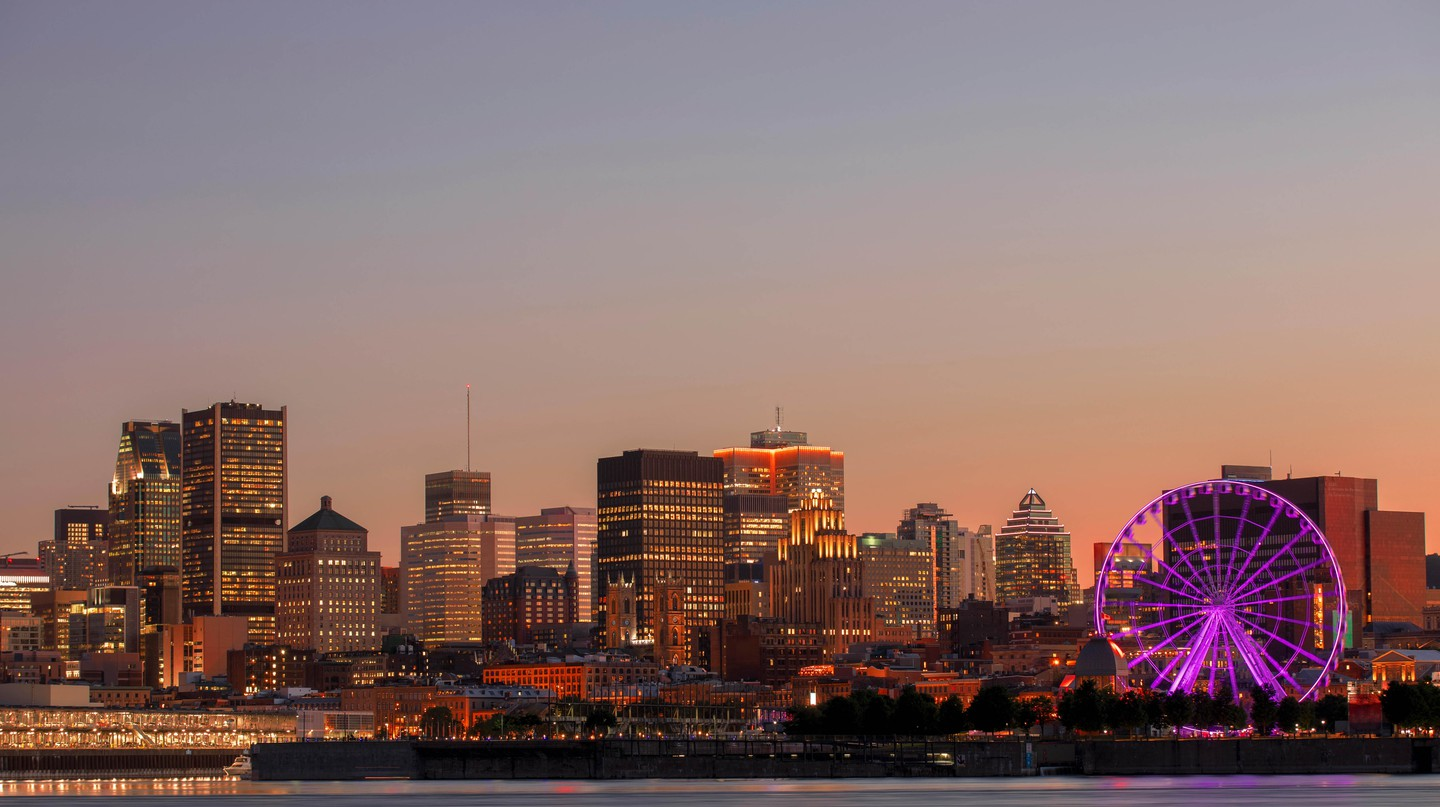 Montreal has a number of rooftop bars where you can enjoy the sunshine and sip on a cool drink