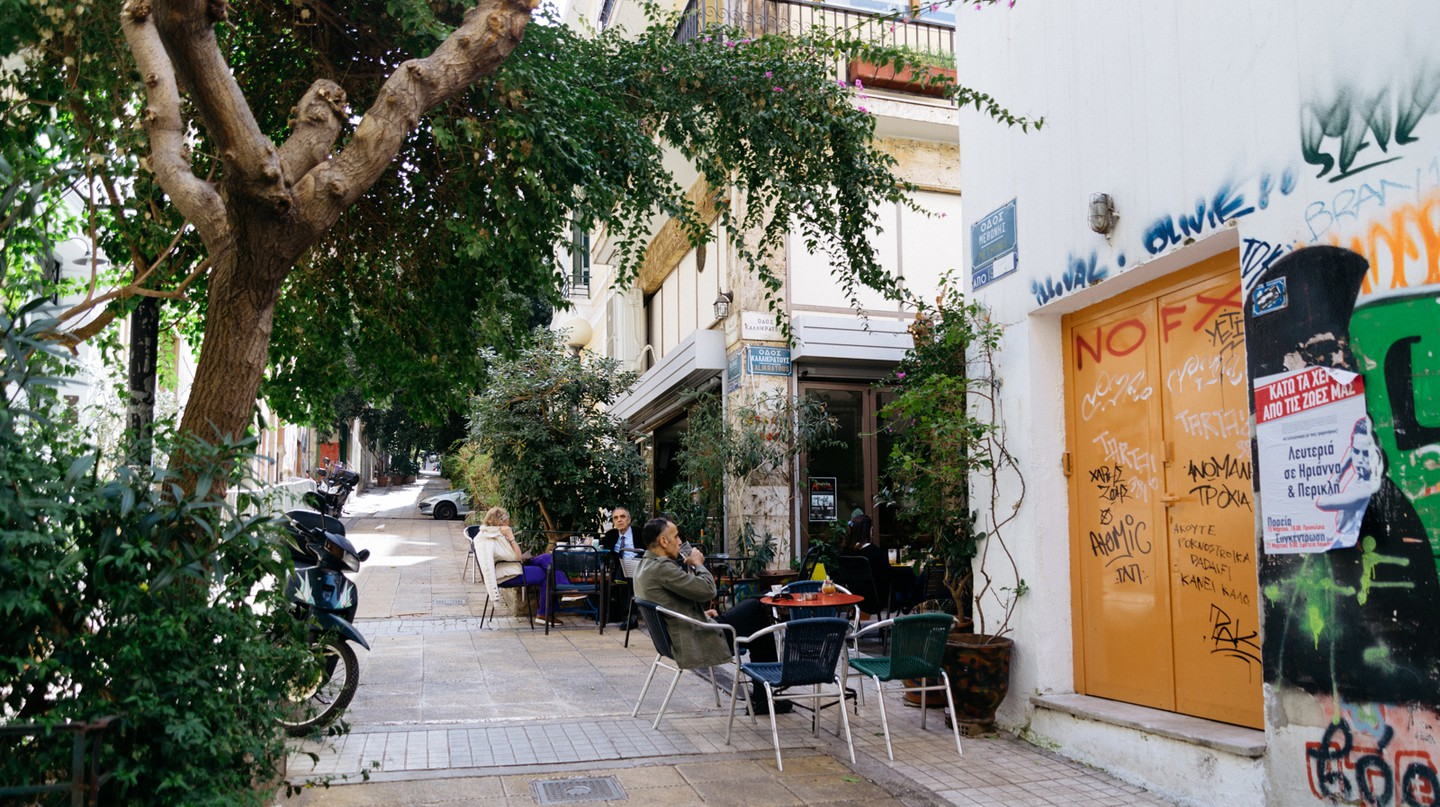 Exarchia is quickly becoming a foodie hotspot