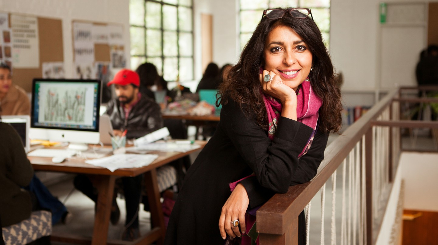 Simran Lal is the creative director and co-founder of Nicobar