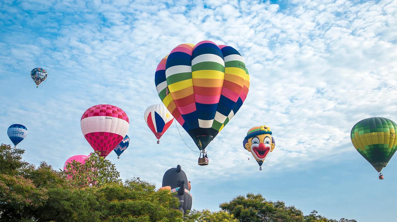 Hot Air Ballooning, Putrajaya, Malaysia