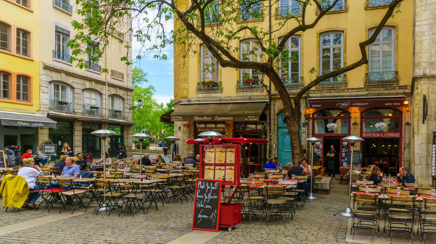 Old Lyon is an idyllic spot to stop for a revitalising cup of excellent coffee