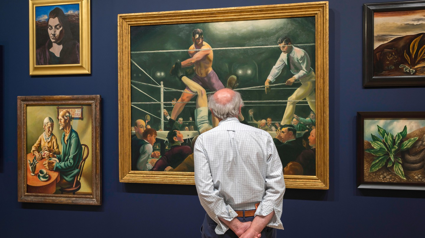 Which paintings should you head for in the MoMA?