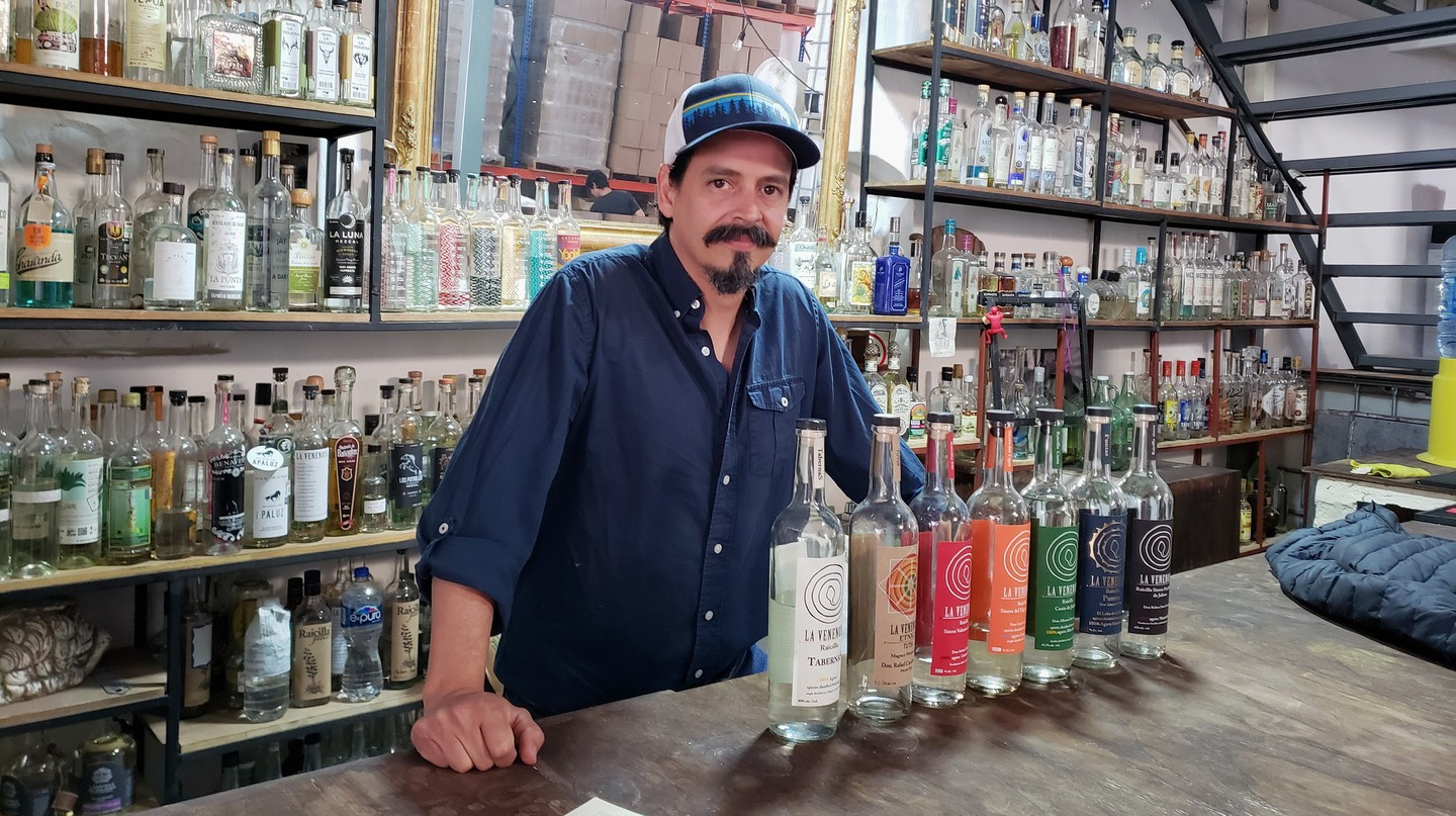 Former chef Esteban Morales is determined to turn raicilla into a fixture on bar menus across the globe