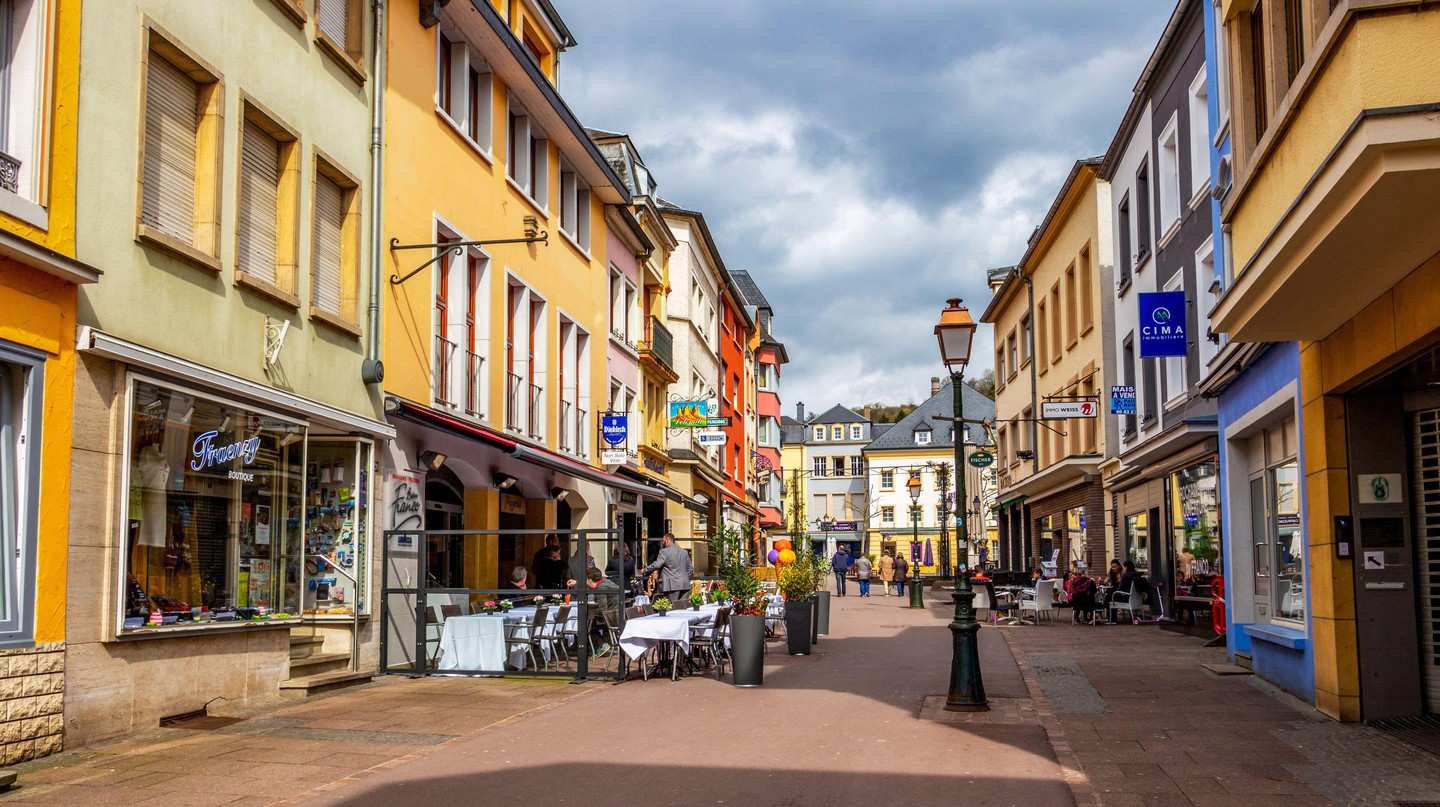 The pretty streets of Luxembourg are perfect for souvenir-hunting