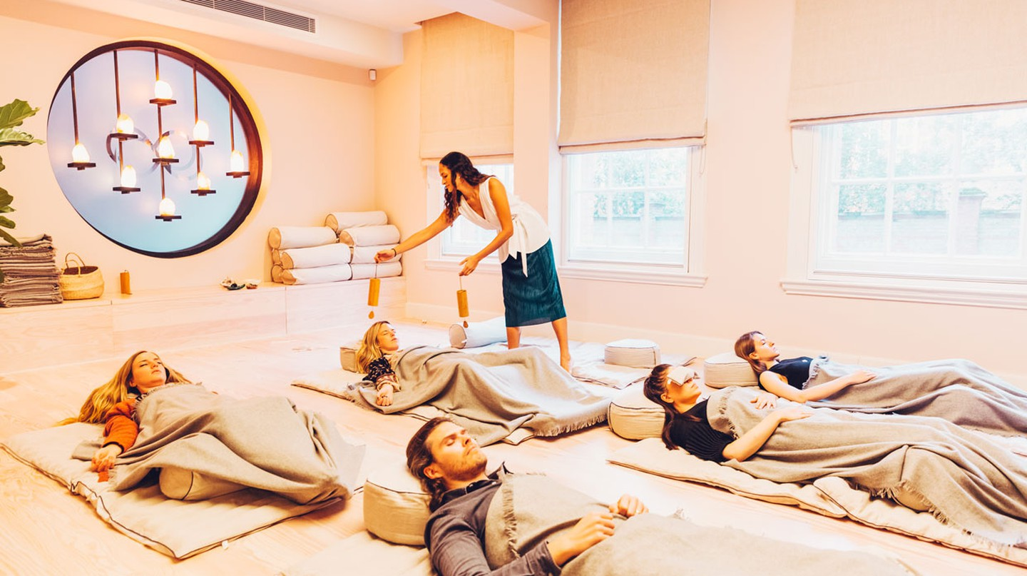 Re:Mind is one of the spaces in London embracing the healing practice of meditation