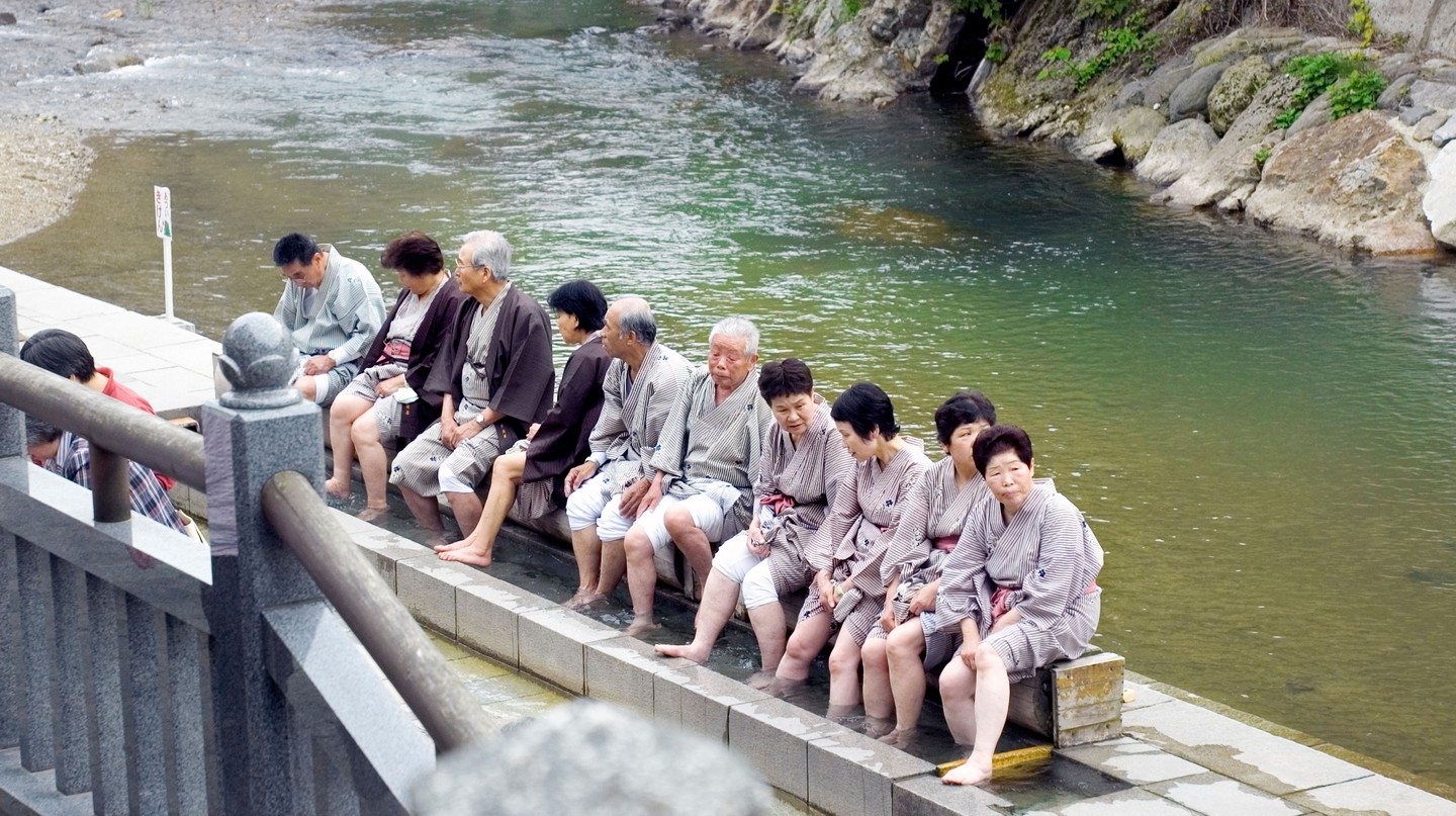 Arima Onsen's waters are known for their healing properties